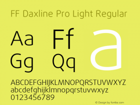 FF Daxline Pro Light