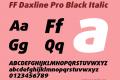 FF Daxline Pro Black