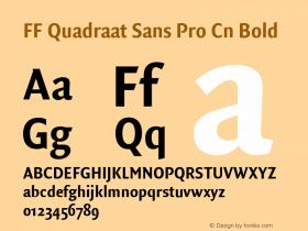 FF Quadraat Sans Pro Cn