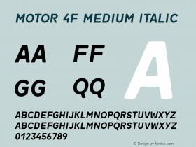 Motor 4F Medium
