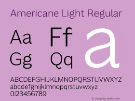 Americane Light
