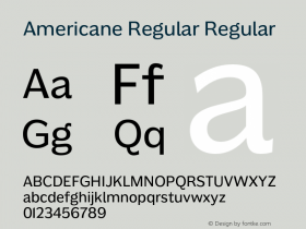 Americane Regular