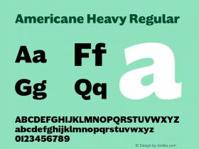 Americane Heavy