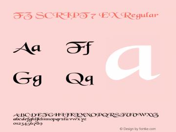 FZ SCRIPT 7 EX