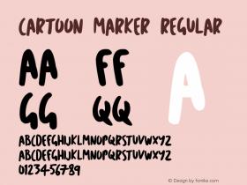 Cartoon Marker