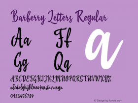 Barberry Letters