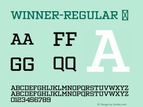 Winner-Regular
