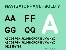 NavigatorHand-Bold