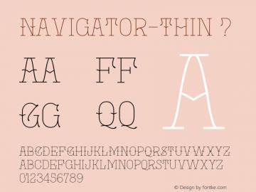 Navigator-Thin
