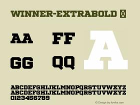 Winner-ExtraBold