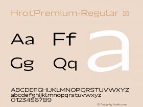 HrotPremium-Regular