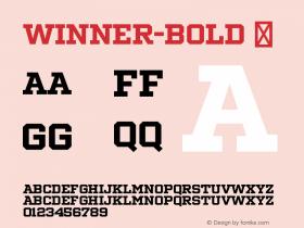 Winner-Bold
