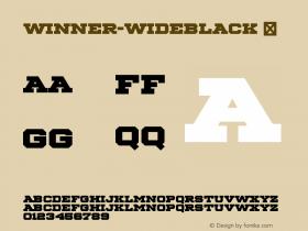 Winner-WideBlack