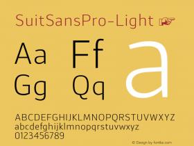 SuitSansPro-Light