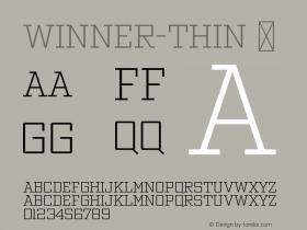 Winner-Thin
