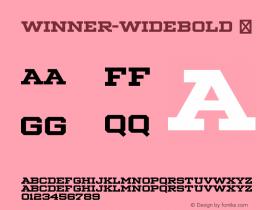 Winner-WideBold