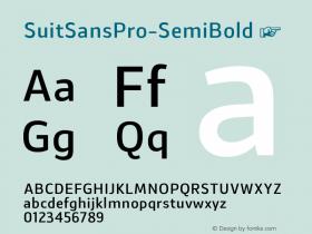 SuitSansPro-SemiBold