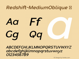 Redshift-MediumOblique