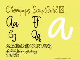 Cherripops-ScriptBold