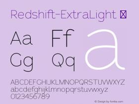 Redshift-ExtraLight
