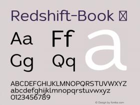 Redshift-Book