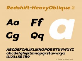 Redshift-HeavyOblique