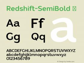 Redshift-SemiBold