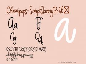 Cherripops-ScriptSkinnyBold