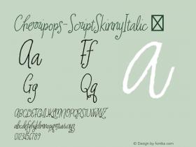 Cherripops-ScriptSkinnyItalic