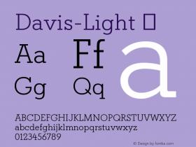 Davis-Light
