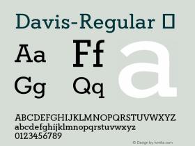 Davis-Regular