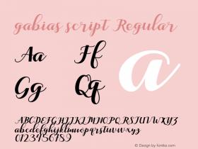 gabias script