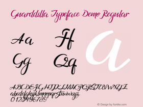 Guarddilla Typeface