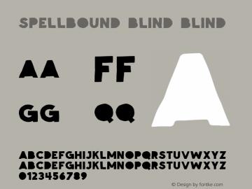 Spellbound Blind