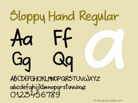 Sloppy Hand