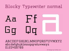 Blocky_Typewriter