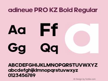 adineue PRO KZ Bold
