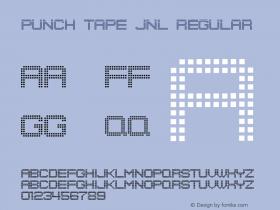 Punch Tape JNL