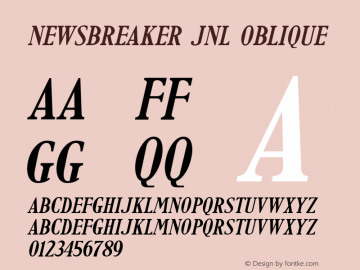 Newsbreaker JNL