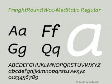 FreightRound-MedItalic