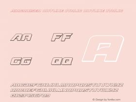 Aircruiser Outline Italic