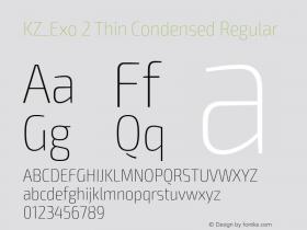 KZ_Exo 2 Thin Condensed