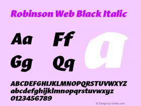 Robinson Web
