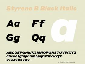 Styrene B Black