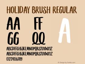 Holiday Brush