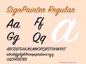 SignPainter