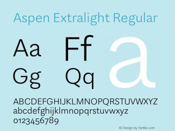 Aspen Extralight
