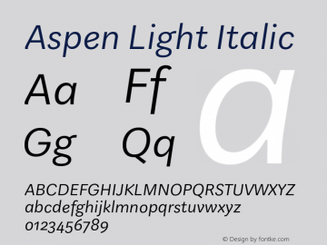 Aspen Light