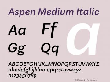 Aspen Medium