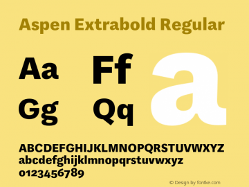 Aspen Extrabold